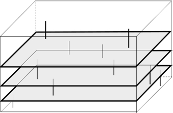 Different kinds of branes 'fractionate' each other, giving a large entropy.