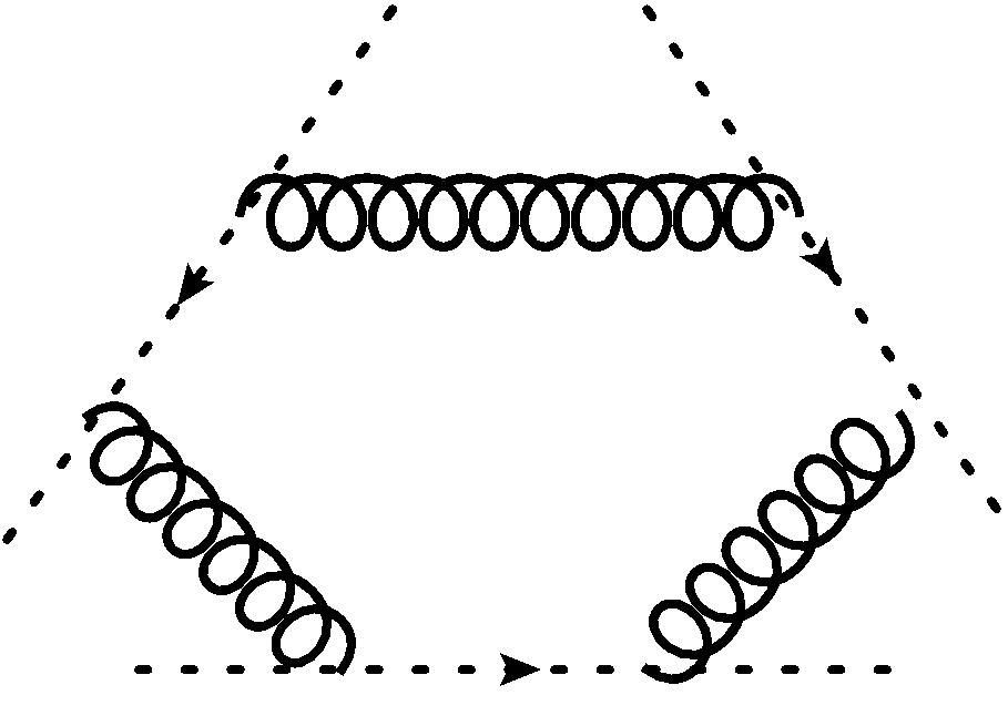 This six (anti) ghost diagram is constructed from the simple ghost-antighost-graviton vertex, only.