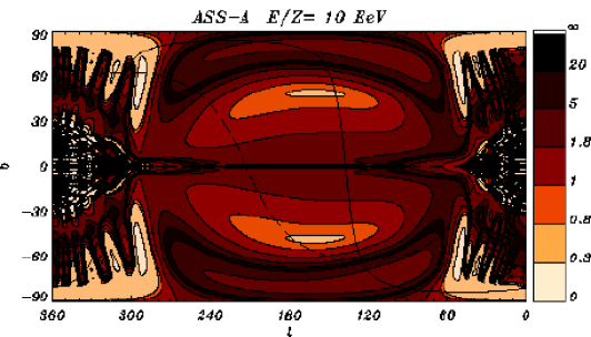 Same as Figure 7, now in the ASS-A model and for