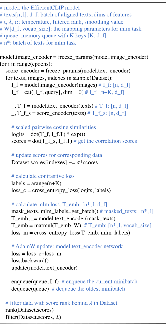 The text encoder have two outputs, including the embeddings of tokens (the first output) and the features of sentences (the second output).
