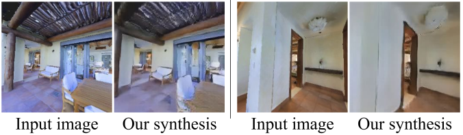 Our model can also be applied on Matterport3D