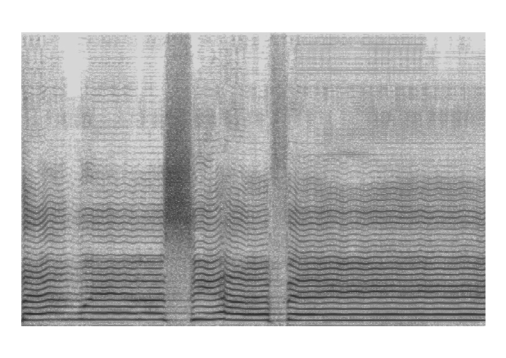 The spectrogram of a sample generated by KaraSinger.